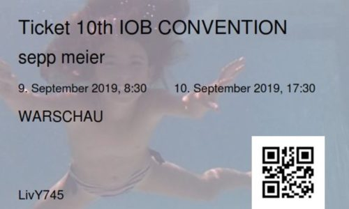 IOB Convention Ticket